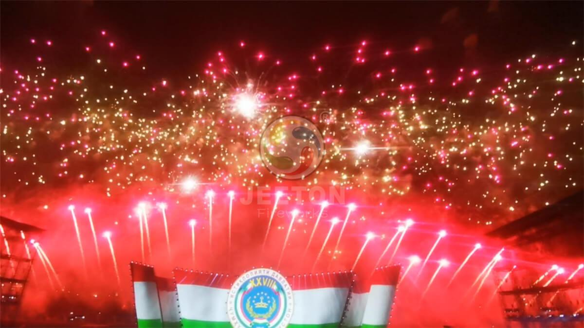 The 28th Anniversary Celebration Fireworks Show of Tajikistan