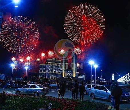 Tajikistan Navruz Festival Fireworks Show