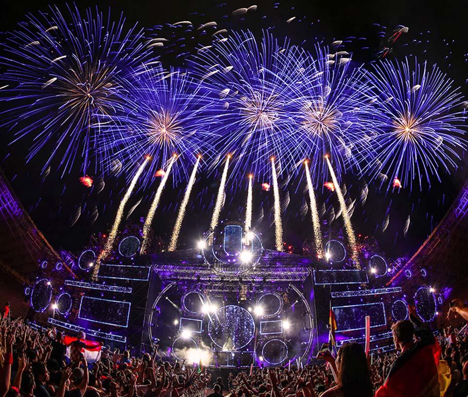 Stage Fireworks